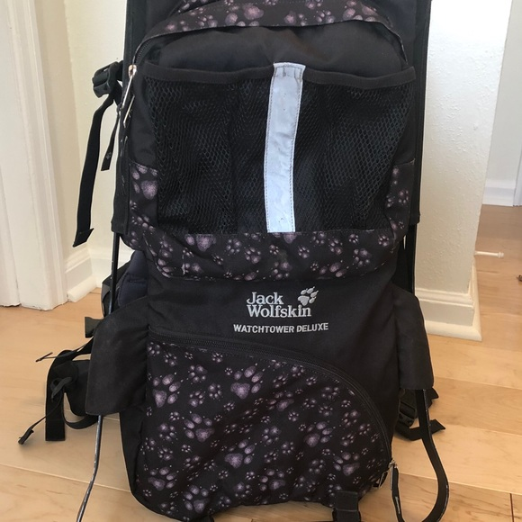 dobry online tutaj sprzedaż online Jack wolfskin Watchtower kids hiking pack/carrier!
